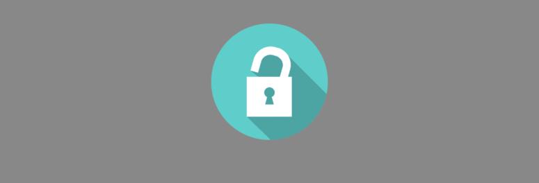 Padlock WordPress passwords