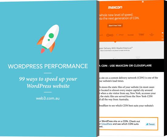 Speed up WordPress Ebook